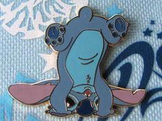 Disney Trading Pin - Stitch Handstand Standing On Head Upside Down - 28861