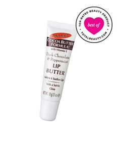 Best Drugstore Beauty Product No. 6: Palmer's Cocoa Butter Formula Dark Chocolate and Peppermint Lip Butter, $2.99