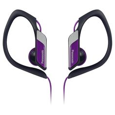 Panasonic Water-Resistant Sports Clip Earbud Headphones -