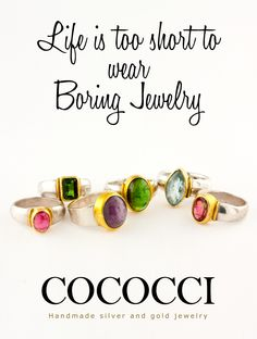 Live the with Cococci, Handmade Silver, Handmade Jewelry, Gem S, Gold Jewelry, How To Memorize Things, Product Launch, Gemstones, Lifestyle, Live