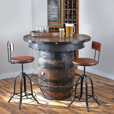 Wine Barrel Furniture - Wine Enthusiast
