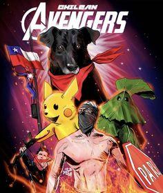 The Chilean Avengers World Of Wacraft, Don Meme, Avengers, Sweet Memes, Pokemon, Geek Stuff, Fan Art, Cool Stuff, Comics