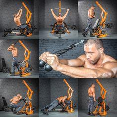 Workout Station TRIPLEX - MegaTec Serie in use - Part 2