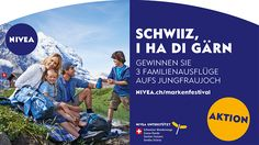 NIVEA Wandertour: «Schwiiz, i ha di gärn»