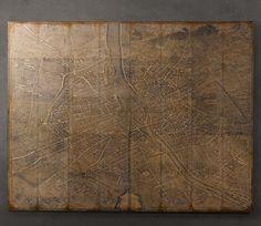 RH Vintage Paris Map Knock Off - Maison de Pax
