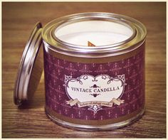 Paraffin Candles, Soy Wax Candles, Candle Jars, Mason Jars, Natural Candles, Vintage Candles, Just Relax, Retro Style, Vintage Style
