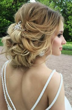 Elstile wedding hairstyles for long hair 20 - Deer Pearl Flowers / http://www.deerpearlflowers.com/wedding-hairstyle-inspiration/elstile-wedding-hairstyles-for-long-hair-20/