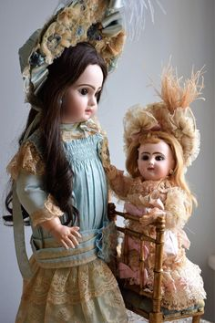Warmest Holiday Wishes From Doll Heaven to YOU!!! See our LARGE inventory of Antique French & German Dolls and Vintage Madame Alexanders!