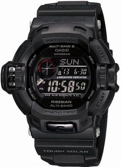Casio G Shock Riseman Men in Mat Black