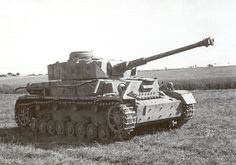 "A Panzer IV ""612"" of the 6th Company was recovered intact on 3 July 1944 by the Royal Electical and Mechanical Engineers (REME) who are preparing to low it away behind a Sherman. It was used for training replacement tank crews arriving from England. Note that the turret numbers were stencilled in white as was the case with the 1st Company tanks. #worldwar2 #tanks"