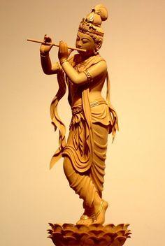 音声菩薩像 | 仏像販売・仏像彫刻の専門店の仏像彫刻原田