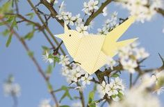 Frühlingsvögel für den Osterstrauß | Mein schönes Land bloggt