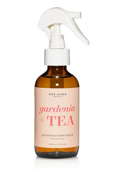 Always in a rush? This body serum by One Love Organics comes in a convenient spray bottle. Just a few mists work to gently exfoliate and refine skin with pumpkin seed oil (a natural source of salicylic acid) and sea buckthorn oil. One Love Organics Gardenia   Tea Antioxidant Body Serum, $39, available at Birchbox. #refinery29 http://www.refinery29.com/best-body-oils-serums#slide-1