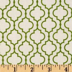 Amazon.com: 44'' Wide Metro Living Tile Leaf Fabric By The Yard: Arts, Crafts & Sewing