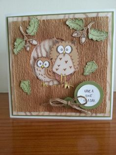 Card made using inky doodle stamps.