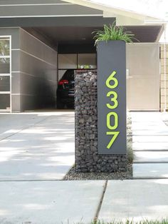 Unique Address Number Decoration