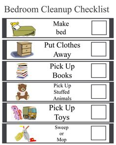 Interactive Online Chore Chart With Printable Options  Caitlin