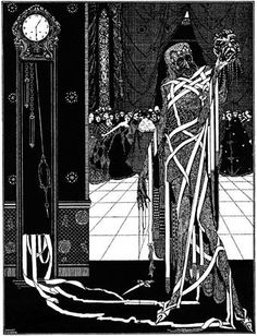 """""""And Darkness and Decay and the Red Death held illimitable dominion over all.""""  --""""The Masque of the Red Death"""" (1842), by Edgar Allan Poe"""