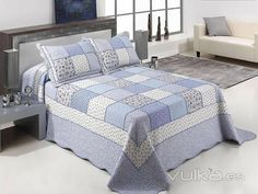 Colchas Quilt, Quilt Top, Big Block Quilts, Quilt Blocks, Bedroom Comforter Sets, Chicken Scratch Embroidery, Crochet Quilt, Easy Quilts, Bed Covers