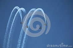 The Blades erobatic Disply Team Performing at the Southport Air Show 2015.