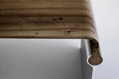 nice detail - simple table by Katarzyna Knebel, via Behance
