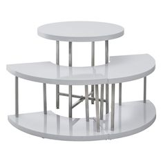 Nesting Table Set   White | Modern Retail: Sleek Into Contemporary |  Pinterest | Contemporary, Display And Modern