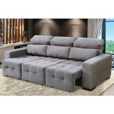 Sof gata retr til e reclin vel decorita sofas for Sofa 6 lugares reclinavel e assento retratil roma suede amassado marrom orb
