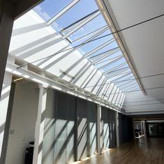 Modular Glass Skylights in Cornell University /  VELUX
