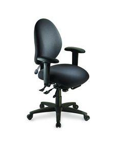 ergoCentric eCentric Series Mid Back Multi Tilt Chair