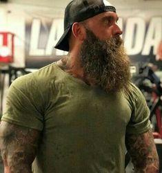 Beard And Mustache Styles, Beard Styles For Men, Hair And Beard Styles, Scruffy Men, Hairy Men, Bearded Men, Moustache, Beard No Mustache, Red Beard