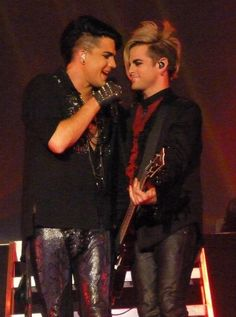 Adam Lambert and tommy