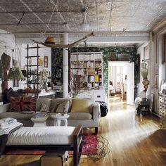 Stylist Sibella Court's bohemia-chic apartment | Livingetc | Housetohome. my lord.
