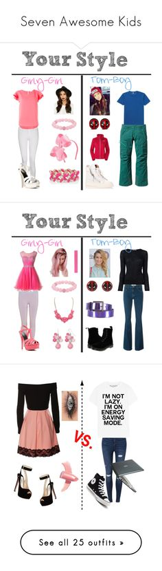 """""""Seven Awesome Kids"""" by sierra-ivy on Polyvore featuring Prada, Elizabeth Arden, Miss Selfridge, Converse, Speck, MICHAEL Michael Kors, Old Navy, Marc by Marc Jacobs, George J. Love and Irene Neuwirth"""