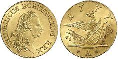 Prussia AV Friedrichs d'or 1777-A (Berlin Mint) Friedrich II (THe Great)