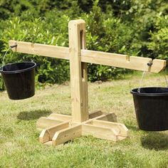 Giant Wooden Scales £251.94