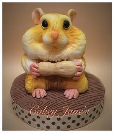 Edible fondant personalised pet cake topper Themed Birthday Cakes, Cake Ideas, Cake Toppers, Fondant, Bird, Pets, Desserts, Crafts, Tailgate Desserts