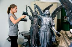 Go!SCAN 3D Scanner being used here for Heritage Preservation.