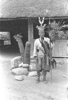 Taiwan aboriginal warrior