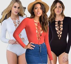 6200d6713dc Aliexpress.com   Buy Summer Style 2016 New Deep V Neck Black Tie Rompers Womens  Jumpsuit Long Sleeve Macacao Feminino Monos For Women Bodysuits from ...