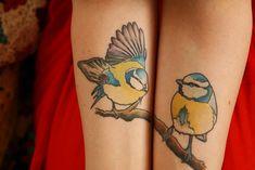Bluetit tattoo - http://99tattoodesigns.com/bluetit-tattoo/
