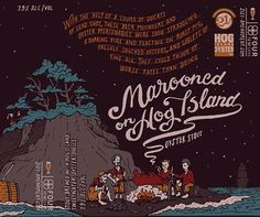 Marooned on Hog Island illustrated by Jon Contino.