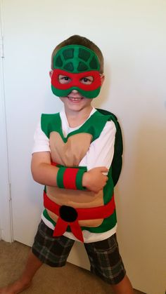 Ninja Turtle Costume by JulieMarieKids on Etsy