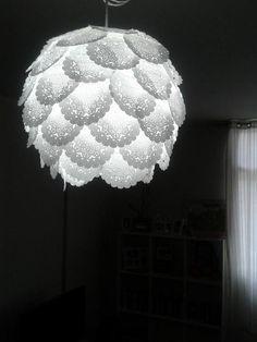 Luminária de papel!