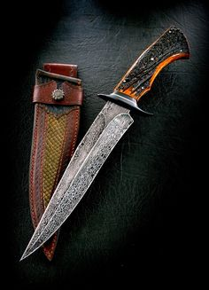 "Fighter 9.5"" | CAS Knives - cuchillos artesanales                                                                                                                                                      Más"