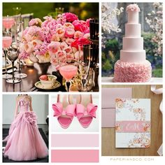 Paperi & Co. | Pink Wedding Theme