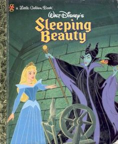 my favorite book and Disney story Childhood Stories, My Childhood Memories, Vintage Children's Books, Vintage Kids, Vintage Stuff, Disney Sleeping Beauty, Little Golden Books, My Escape, Classic Books