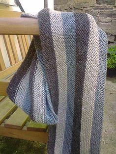 Ravelry: Garter Stitch Scarf pattern by Erika Knight