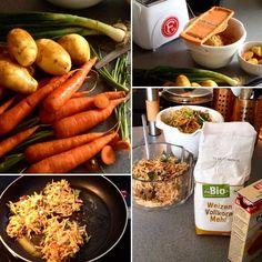 Schöner Leben mit Kartoffelpuffern ;-) Manchmal braucht man einfach mal simples - wo man beim kochen sich ein wenig verausgabt und den Stress des Tages atomisiert bzw schreddert :-) #daily