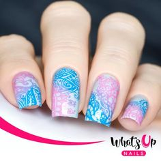 This stamping plate is breathtaking with Hand of Hamsa, paisley and floral designs to stamp your next manicure with. Easter Nail Designs, Easter Nail Art, Best Nail Art Designs, Fall Nail Art, Fall Nail Designs, Floral Designs, Hamsa, Cute Nails, My Nails