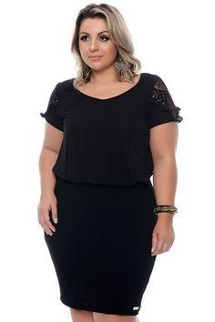 Vestido Plus Size Rhosean